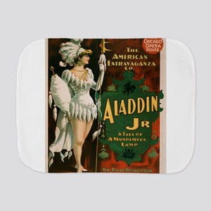 Vintage poster - Aladdin Jr. Burp Cloth