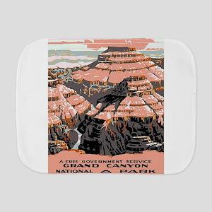 Vintage poster - Grand Canyon Burp Cloth