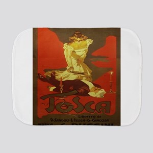 Vintage poster - Tosca Burp Cloth