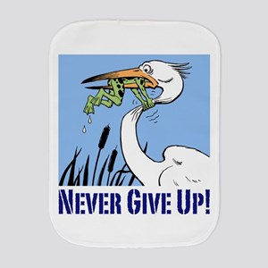 Dont Give Up3 Burp Cloth