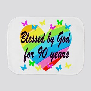 90TH PRAYER Burp Cloth
