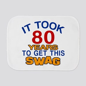 It Took 80 Years To Get This Swag Burp Cloth
