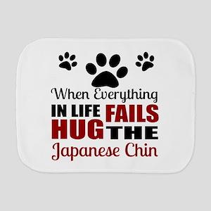 Hug The Japanese chin Burp Cloth