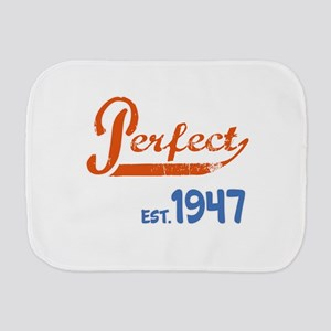 Perfect, Est. 1945 Burp Cloth