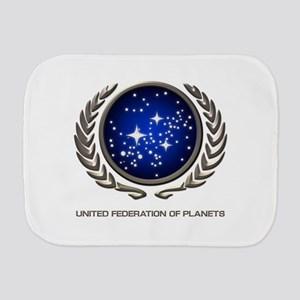 STAR TREK UFP Insignia Burp Cloth