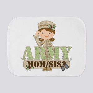 Christmas Army Soldier Burp Cloth