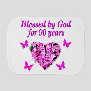CHRISTIAN 90 YR OLD Burp Cloth