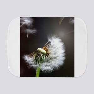 Dandelion blowing Burp Cloth