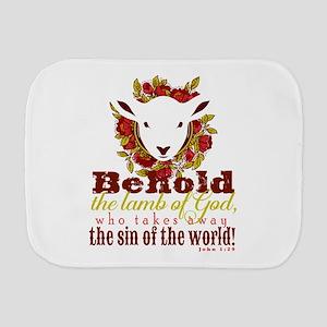 Lamb of God Burp Cloth