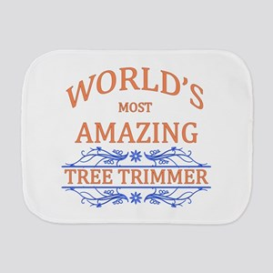 Tree Trimmer Burp Cloth