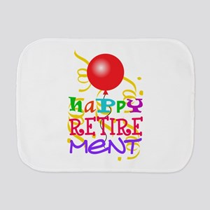 Happy Retirement Burp Cloth