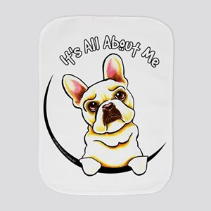 Fawn Frenchie IAAM Burp Cloth