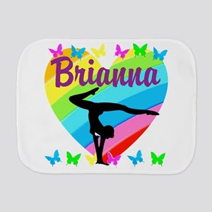 PERSONALIZE GYMNAST Burp Cloth