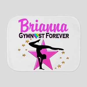 GYMNAST FOREVER Burp Cloth