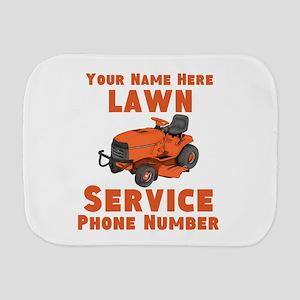 Lawn Service Burp Cloth