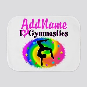 GYMNAST STAR Burp Cloth