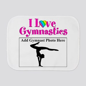 GYMNAST LOVE Burp Cloth