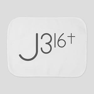 J316Typo Burp Cloth