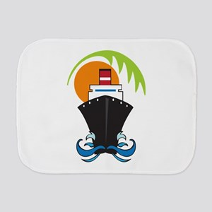 CARIBBEAN CRUISE Burp Cloth