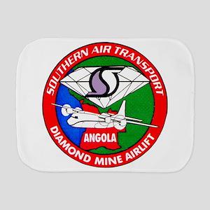 Southern Air Transport Angola Burp Cloth