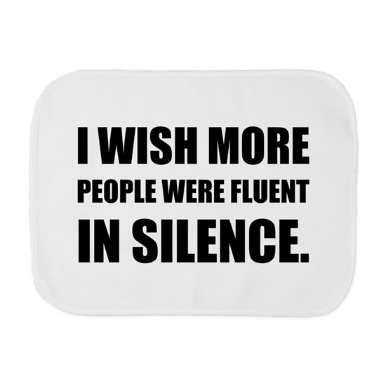 More People Fluent In Silence
