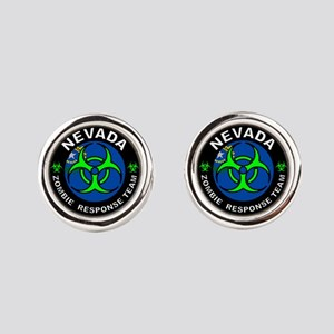 NV ZRT Green Round Cufflinks