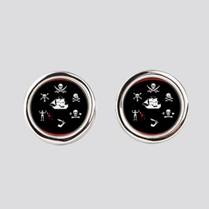 BROTHERHOOD Round Cufflinks