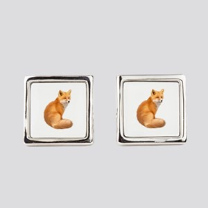animals fox Square Cufflinks