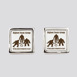 Big Foot Focus Group Square Cufflinks