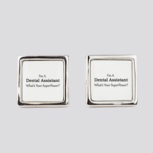 Dental Assistant Square Cufflinks