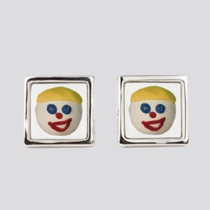 Oh No Mr. Bill Square Cufflinks