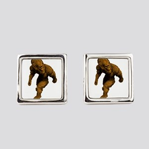 WALK ON TODAY Square Cufflinks