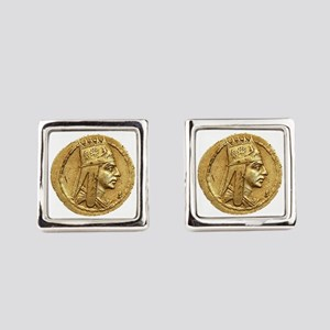 Tigran the Great Square Cufflinks