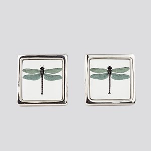 Dragonfly Square Cufflinks