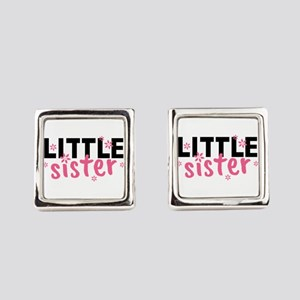 Little Sister Square Cufflinks