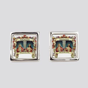 Sacred and Immaculate Hearts Cufflinks