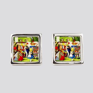 """Off With Her Head,"" shouts the Q Square Cufflinks"
