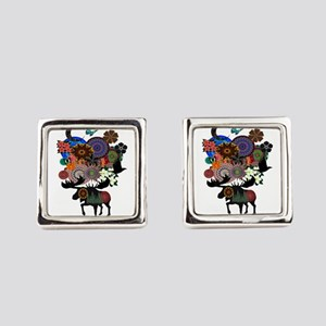 MAKE IT WHIMSICAL Square Cufflinks
