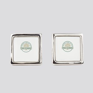 Nothing Scares Me Tree Climber Tr Square Cufflinks