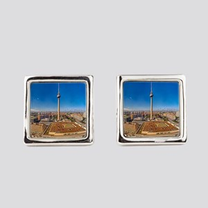 Berlin Sky Square Cufflinks