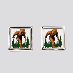 MOUNTAIN STROLL Square Cufflinks
