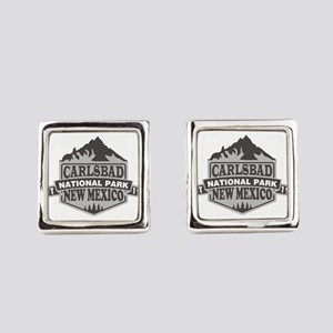 Carlsbad Caverns - New Mexico Square Cufflinks