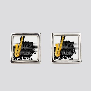 Jazz Square Cufflinks