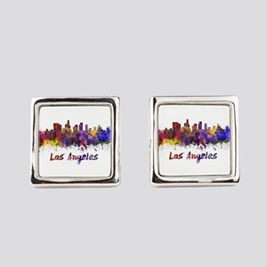 I Love LA Square Cufflinks