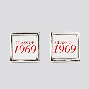 CLASS OF 1969-Bau red 501 Square Cufflinks