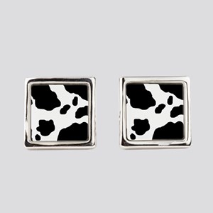 Cow Pattern Square Cufflinks