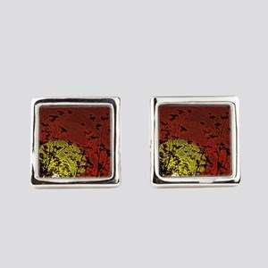 Bloody Sunrise Square Cufflinks