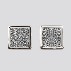 Damask Square Cufflinks