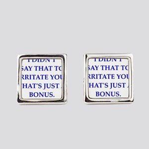 bonus Square Cufflinks