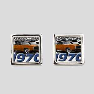 1970 Charger Square Cufflinks